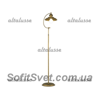 Торшер Altalusse INL-5027F-01 BRUSHED GOLD