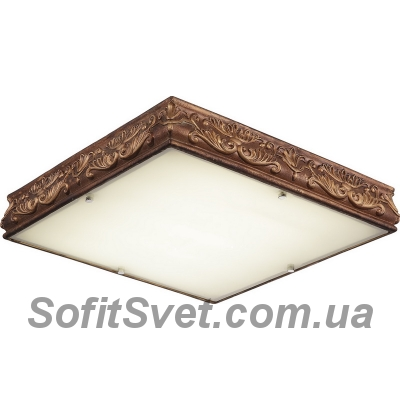 Люстра потолочная Altalusse INL-6132C-30 Golden Coffee LED