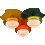 Люстра потолочная Altalusse INL-9298C-03 Orange, Yellow, Green